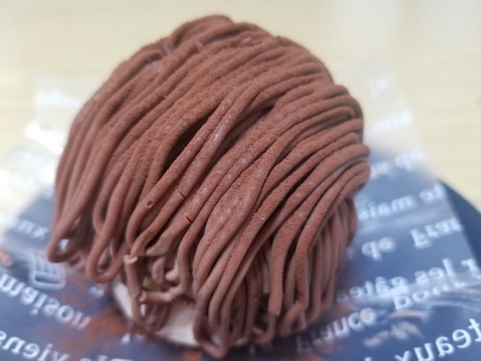 グランスイーツイケダの生チョコモンブラン