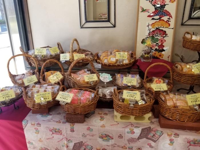 ケーキハウス クドウの焼き菓子
