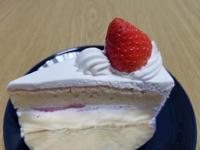 ケーキハウス クドウのショートケーキ